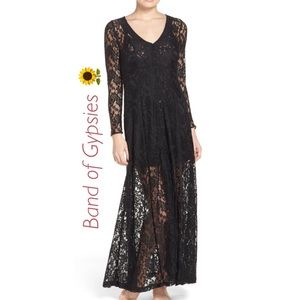 Band of Gypsies Lace Duster